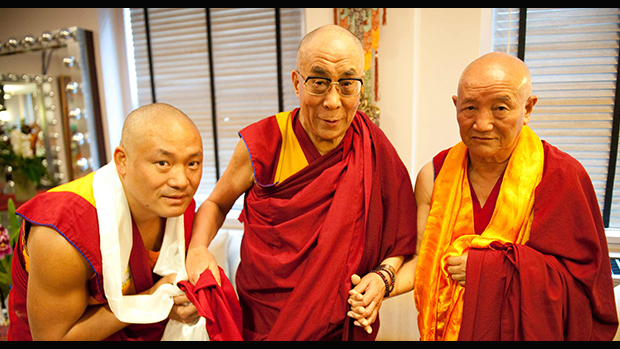 His Holiness, the Dalai Lama at DNKL